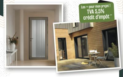 -6% sur les fenêtres et portes d'entrée Bois-Aluminium