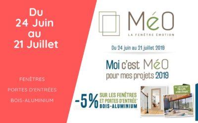 Offre spéciale : -5% sur les fenêtres & portes Bois – Aluminium